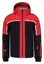 Icepeak NEVIO Herren Skijacke Outdoor Funktionsjacke in schwarz-rot