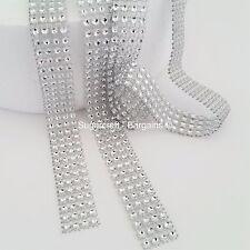 T185-1866273031-M Simplicity Plastic Rhinestone Diamante Trimming