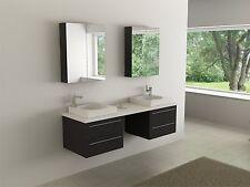 Badmöbel Set Badezimmer Waschbecken Badschrank Waschtisch Gäste WC Badregal