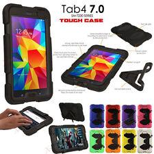 Samsung Galaxy Tab 4 7.0 T230 Tough HEAVY DUTY Shock Protective Survival Case
