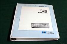 HP 8350B  OPERATING MANUAL