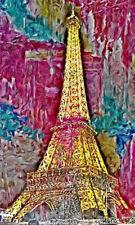 POSTER XXL POP ART GRAFFITI EIFELTURM PARIS ABSTRAKT POSTER BIS 90x150