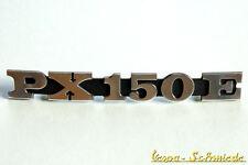 """VESPA Emblem Schriftzug Seitenhaube - """"PX150E"""" - Seitenbacke PX 150 E alt Lusso"""