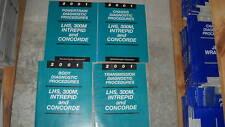 2001 CHRYSLER LHS CONCORDE DODGE 300M INTREPID Service Repair DIAGNOSTIC Manual