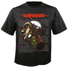 Carcass 'Dead Body' T shirt - NEW OFFICIAL heartwork necroticism swansong reek