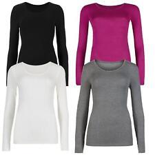 M&S Ladies Heatgen Thermal Long Sleeve Vest Top Size 6-22