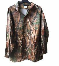NEW Jungle TREE Design Camouflage Wind Waterproof hooded Rain Jacket Coat unique
