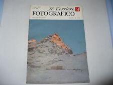 IL CORRIERE FOTOGRAFICO N.51 1957 GALZIGNAN SPINA VIGO
