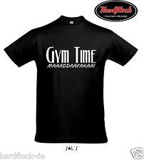 T-SHIRT GYM time telefonico Bodybuilding MMA motivazione Allenamento Fitness Arni