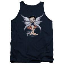 Betty Boop Cartoon Mushroom Fairy Adult Tank Top Shirt