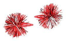 Zest Navidad Oropel Sleepie diapositivas de pelo rojo y plateado