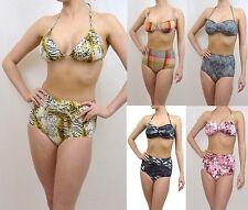 Vintage rétro taille haute ensembles bikini maillots de bain bref & top urban OUTFITTERS