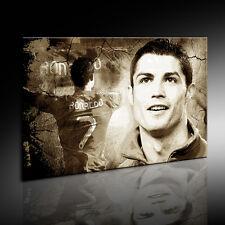 "Leinwandbild ""Cristiano Ronaldo"" Fußball Bild auf Leinwand Wandbild, k Poster 7"