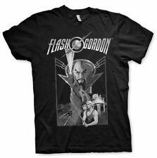 Licenza Ufficiale FLASH GORDON Vintage Poster T-Shirt Uomo Taglie S-XXL