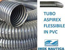 Tubo flessibile di aspirazione Tubo a spirale in acciaio a spirale Tubo di scarico trasparente al metro