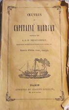 MARRYAT (Capitaine). Ardent Troughton. Tome II. Gosselin. 1846. Marine.