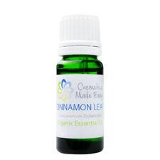 Organic Cinnamon Pure Essential Oil (Cinnamomum Zeylanicum)  10ml, 30ml, 100ml
