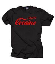 Enjoy Cocaine T Shirt Gift Tees Birthday Gift
