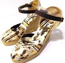 Womens Desigual Wedges Sandals Side buckle closure Canvas Size Varies RARE COLOR