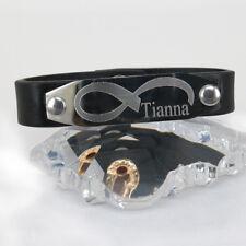 Personalized Leather Bracelet   Name Bracelet  Free Engraving Leather Bracelet