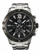 NWT ORIENT Classic Sports Chronograph Watch TW03001B TW03002W TW03003T TW03003W