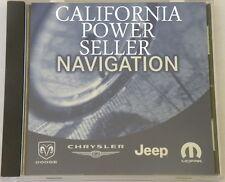 Chrysler/MOPAR AF Update Navigation GPS Map DVD Part # 05064033AF