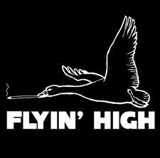 Flyin High T-shirt Funny Mature Drug Pot 5 Colors S-3XL