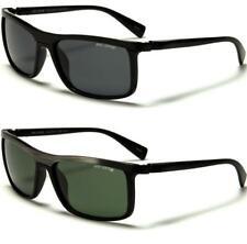 Nuevo Negro Polarizado Gafas de sol Para hombres Conducción Aviador Wrap Retro De Diseñador De Las Señoras