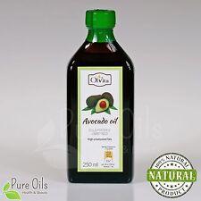 Avocado oil, cold-pressed and crude, Olej z Awokado, Ol'Vita 250ml
