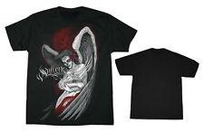 Sullen embrace Ltd Edition Tatouage Homme Noir Rouge Death Angel T shirt rock biker