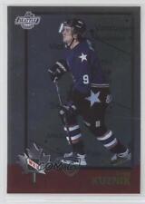 1998-99 Bowman CHL O-Pee-Chee International #47 Greg Kuznik Rookie Hockey Card
