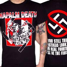 NAPALM DEATH Shirt S,M,L,XL Carcass/Bolt Thrower/Nasum/Benediction/Converge/Doom