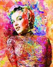 Marilyn Monroe Art Print, Marilyn Canvas, Marilyn Monroe Poster