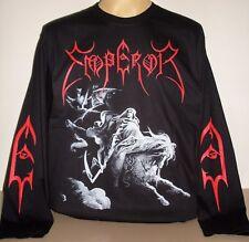 Emperor Rider Pentagram long sleeve T-Shirt Size S M L XL 2XL 3XL Black Metal