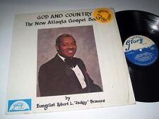 "ROBERT L. ""JACKEY"" BEAVERS God & Country GLORY VG++/NM- Shrink"