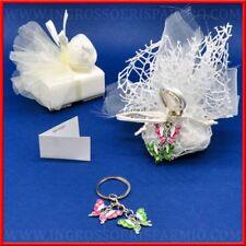 Bomboniere gadget compleanno comunione ragazza portachiavi farfalla offerte