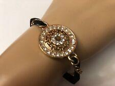 Fashion Jewelry Women Multi Chain Circle Stone Lock Bracelet Bangle Assorted