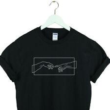 Aesthetic shirt unisex Creation Hands aesthetic clothing christmas gift