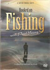 HOOKED ON FISHING 3 DVD SET SCOTLAND IRELAND & ENGLAND WITH PAUL YOUNG