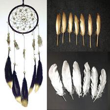 15-20cm//6-8 pulgadas Oro//Plata//Negro//Blanco Hermoso natural pluma de ganso 100 un