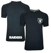 NFL Oakland Raiders T Shirt Mens ALL SIZES Pique Official Team Apparel Jersey