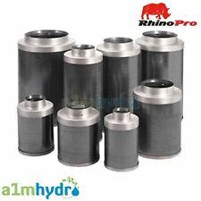 Rhino Pro Carbon Filter 4 5 6 8 10 12 Inch Hydroponics