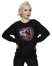Marvel Women's Guardians of the Galaxy Neon Gamora Sweatshirt