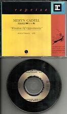 MERYN CADELL Window of Opportunity 1993 PROMO Radio DJ CD single 1993 MINT