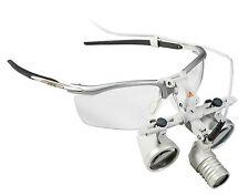 Heine LED loupelight 2 set with HR 2.5x binocular loupes on S-frame (New 2017)