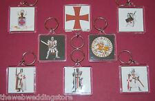 I Cavalieri Templari-Crociate-MASSONICA-MASSONERIA - Red Cross-Templari-Chiavi