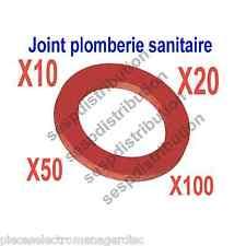 Joint fibre rouge arrosage sanitaire chauffage joint vendu par lot 10 U à 100 U