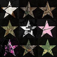 Star Decal Camouflage Vinyl Star Sticker