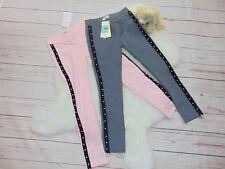 Kinder Mädchen Leggings Treggings Hose mit Perlen Gr. 98-170