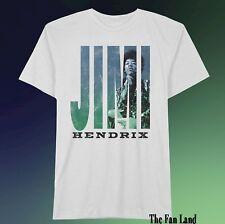 New Jimi Hendrix White  Men's Vintage T-Shirt